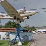 Cessna 402 da Sucatas Bim. Foto: Street View