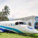 Fokker 100 PR-OAP do Ferro Velho S. Paulo. Foto: Ferro Velho S. Paulo/Divulgação