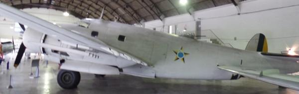 Lockheed Ventura no Museu Aeroespacial. Foto: ViniRoger