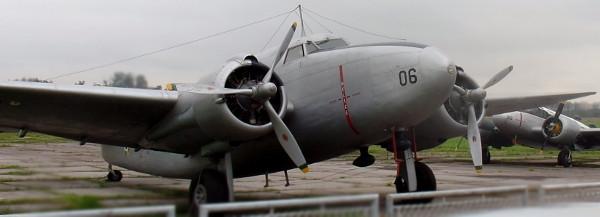 Lockheed Lodestar exposto no MUSAL (FAB 2006, operou até 1968 inclusive sendo o primeiro a servir exclusivamente ao Presidente da República). Foto: ViniRoger