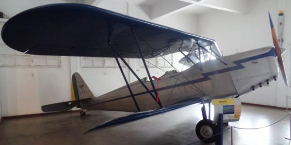 Muniz M-7 no Museu Aeroespacial. Foto: ViniRoger