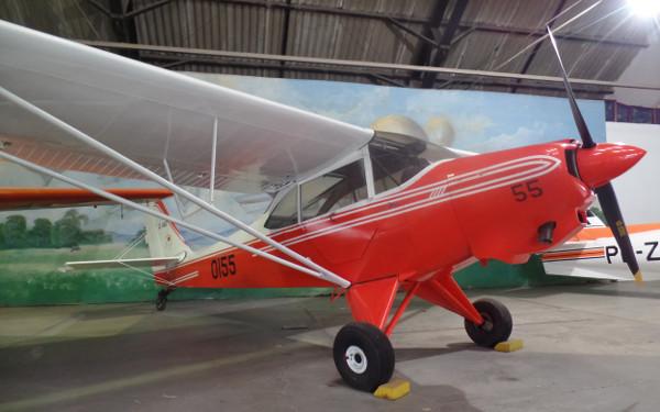 Aero Boero no Museu Aeroespacial. Foto: ViniRoger