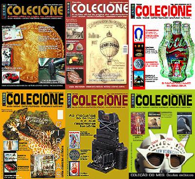 Coleção das revistas Colecionismo