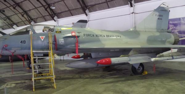 F-2000 Mirage no Museu Aeroespacial. Foto: ViniRoger
