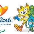 Logo e mascotes (Vinícius e Tom) das paralimpíadas Rio 2016