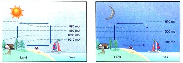Brisas marítima e terrestre