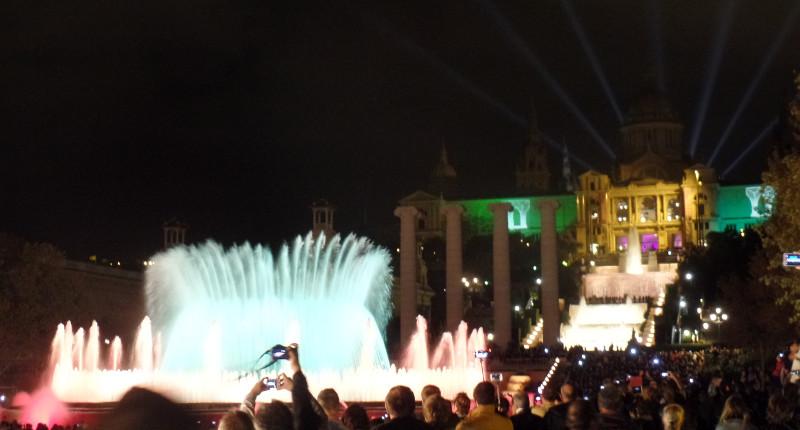 Font Màgica com Palau Nacional ao fundo. Foto: ViniRoger
