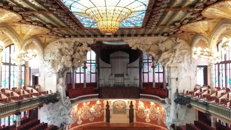 Palau de la Musica Catalana. Foto: ViniRoger