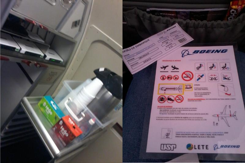 Galley com troller e cartão de segurança. Foto: ViniRoger