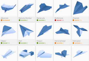 paper airplanes models