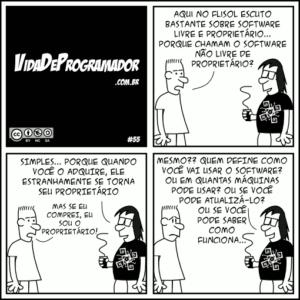 tirinha vida programador