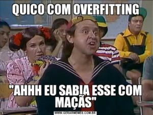 quico overfitting