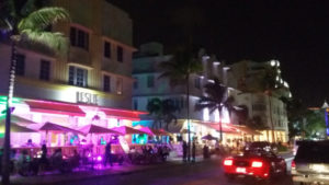 miami beach night