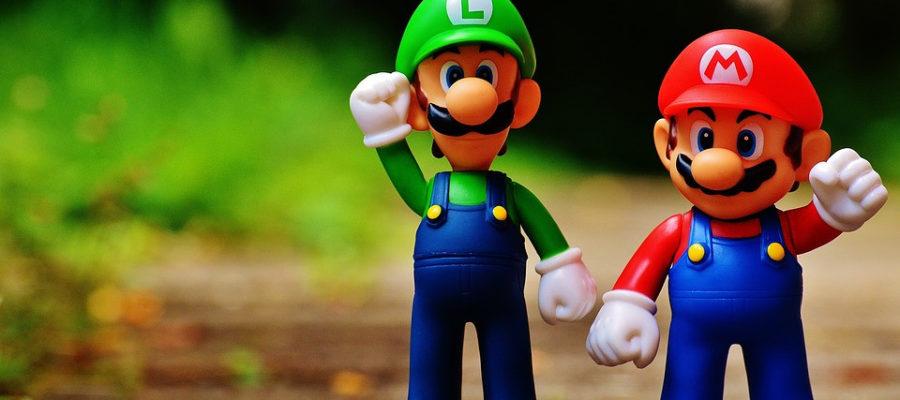 Mario e Luigi na Nintendo Swtich