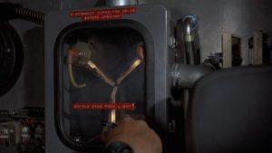 Capacitor de fluxo instalado na máquina do tempo. Fonte: Futurepedia