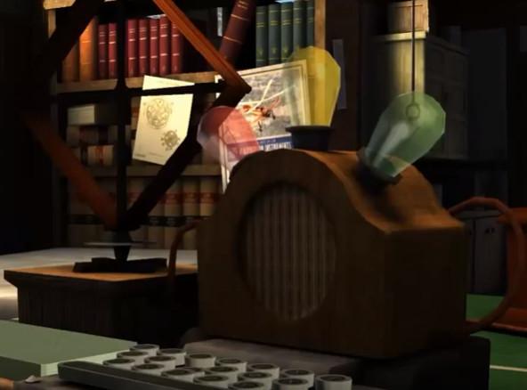 Máquina de escrever o cartão perfurado