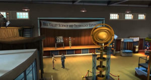 Hill Valley Science Expo (interior)