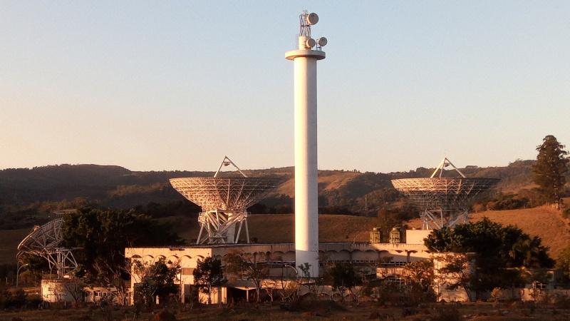Estação terrena de satélites da Embratel em Morungaba/SP. Foto: ViniRoger