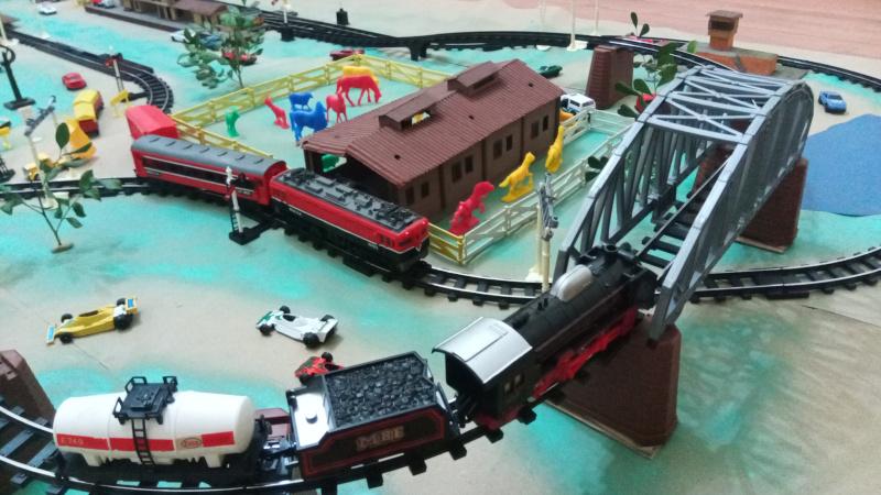 Ponte com trens
