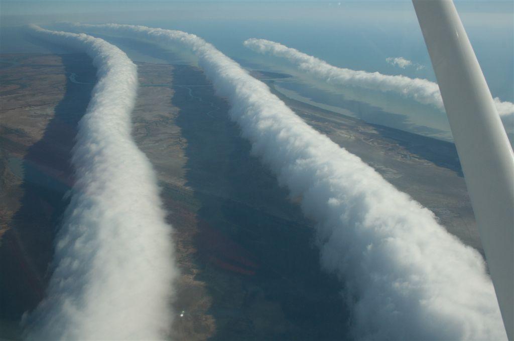 Morning Glory vista de um avião. Fonte: Wikipedia