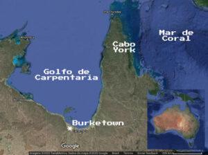 Mapa da região. Fonte: Adaptado de Google Maps