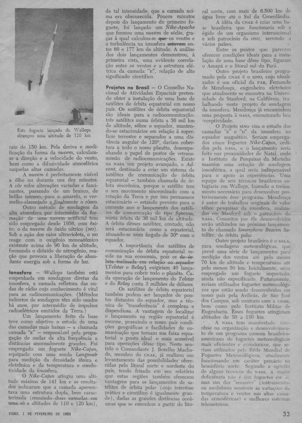 Segunda página do artigo de Villela na NASA