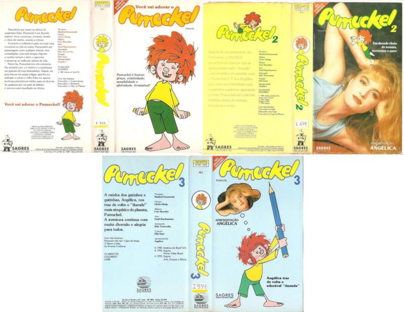 Capas dos VHS dublados no Brasil. Fonte: Compra Compras