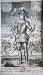 Eduardo III, Tempestade de granizo da Segunda-feira Negra. Fonte: Wikipedia