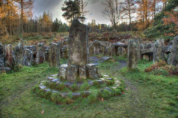 Templo druidico (Leighton, Masham, North Yorkshire). Foto: Wikipedia