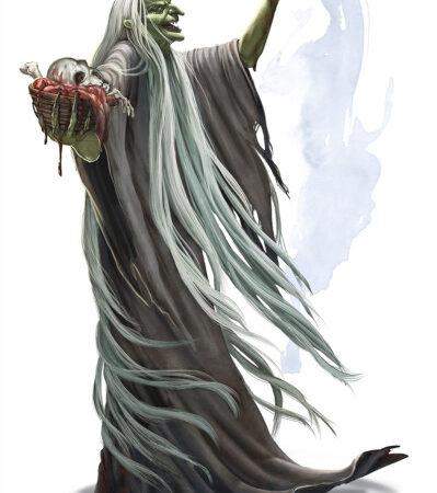 Bruxa verde. Fonte: The Forgotten Realms Wiki