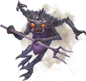 Mezzoloth. Fonte: The Forgotten Realms Wiki