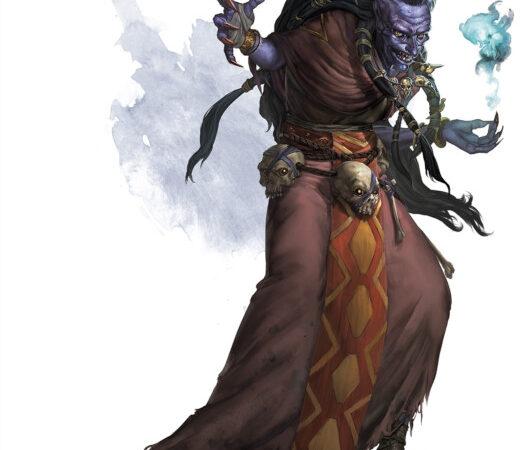 Bruxa da noite. Fonte: The Forgotten Realms Wiki
