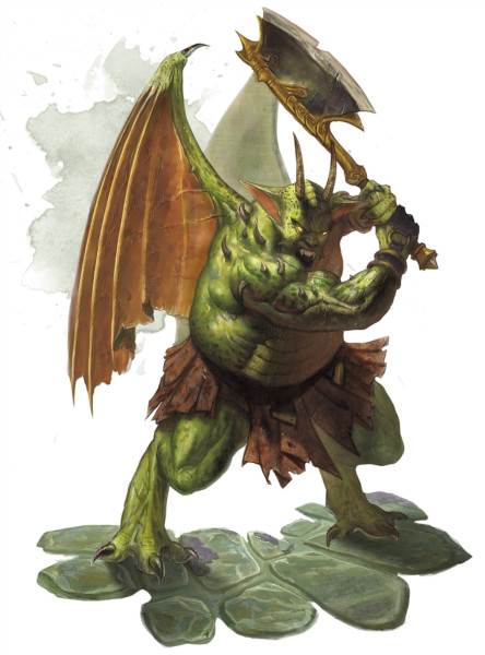 Nycaloth. Fonte: The Forgotten Realms Wiki