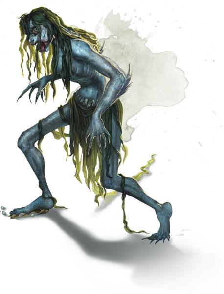 Bruxa do mar. Fonte: The Forgotten Realms Wiki