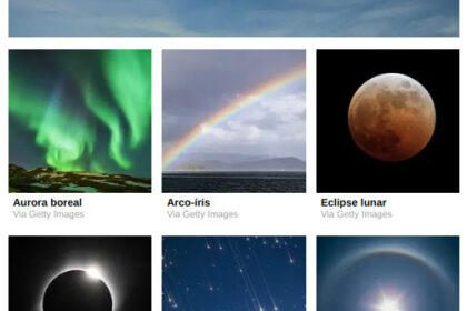 Pedaço da tela com o quiz relacionando nuvens e personalidade. Fonte: BuzzFeed