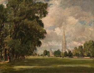 Salisbury Cathedral From Lower Marsh Close - John Constable (1820). Fonte: National Gallery of Art