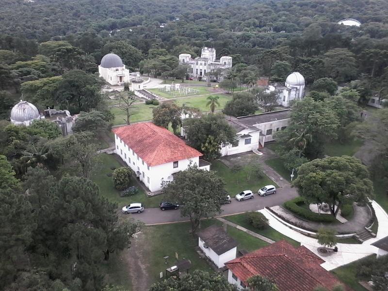 Vista dos principais prédios do Cientec a partir do radar meteorológicos. Foto: ViniRoger