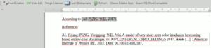 Citation plugin do Mendeley para LibreOffice